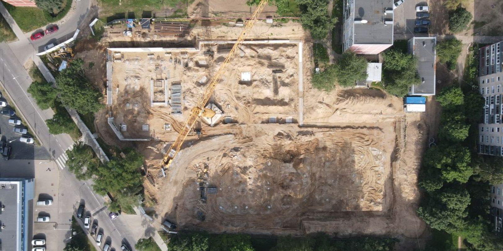 Statybos darbai - 2021 07 19